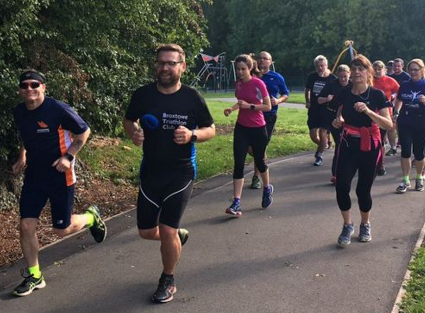 Mickleover Running Club turns out for attack victims